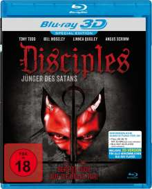 Disciples (3D Blu-ray), Blu-ray Disc