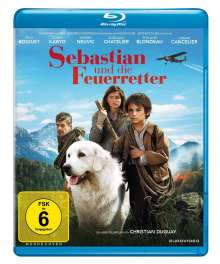 Sebastian und die Feuerretter (Blu-ray), Blu-ray Disc