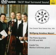 Wolfgang Amadeus Mozart (1756-1791): Klavierquartette Nr.1 & 2, DVD-Audio