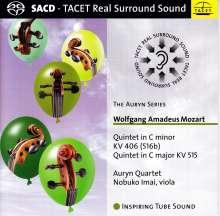 Wolfgang Amadeus Mozart (1756-1791): Streichquintette Nr.2 & 3, Super Audio CD