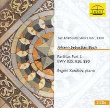 Johann Sebastian Bach (1685-1750): Partiten Part 1, 2 CDs