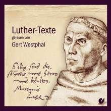 Luther-Texte (gelesen von Gert Westphal), CD
