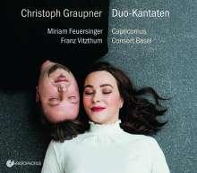 Christoph Graupner (1683-1760): Duo-Kantaten für Sopran & Alt, CD