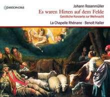 """Johann Rosenmüller (1619-1684): Geistliche Konzerte zur Weihnacht - """"Es waren Hirten auf dem Felde"""", CD"""