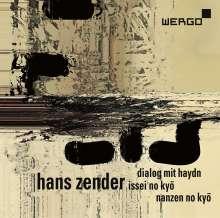 Hans Zender (1936-2019): Dialog mit Haydn für 2 Klaviere & 3 Orchestergruppen, CD