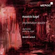 Mauricio Kagel (1931-2008): Improvisation Ajoutée für Orgel, CD