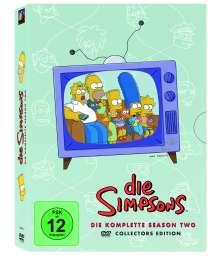 Die Simpsons Staffel 2, 4 DVDs