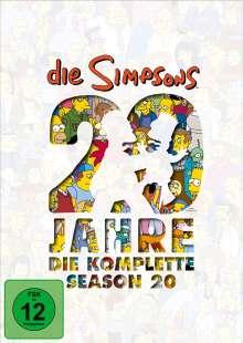 Die Simpsons Staffel 20, 4 DVDs