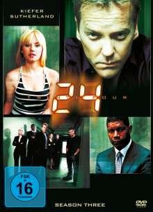 24 Season 3, 7 DVDs