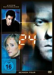 24 Season 4, 7 DVDs