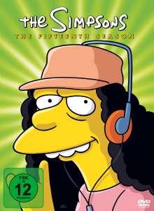 Die Simpsons Season 15, 4 DVDs