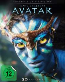 Avatar (3D & 2D Blu-ray & DVD), 1 Blu-ray Disc und 1 DVD