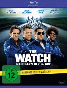 The Watch - Nachbarn der 3. Art (Blu-ray), Blu-ray Disc