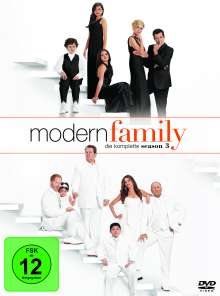 Modern Family Staffel 3, 3 DVDs