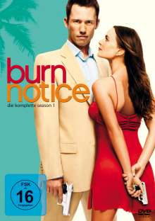 Burn Notice Season 1, 4 DVDs