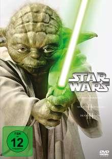 Star Wars Episode I-III, 3 DVDs