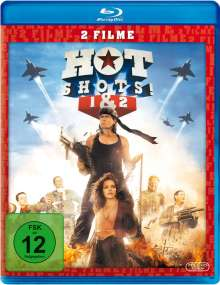 Hot Shots 1 & 2 (Blu-ray), 2 Blu-ray Discs