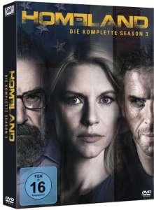 Homeland Staffel 3, 4 DVDs
