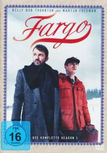 Fargo Staffel 1, 4 DVDs