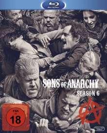 Sons of Anarchy Season 6 (Blu-ray), 3 Blu-ray Discs