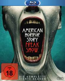 American Horror Story Season 4: Freak Show (Blu-ray), 3 Blu-ray Discs