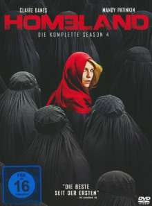 Homeland Staffel 4, 4 DVDs