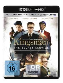 Kingsman - The Secret Service (Ultra HD Blu-ray & Blu-ray), 1 Ultra HD Blu-ray und 1 Blu-ray Disc