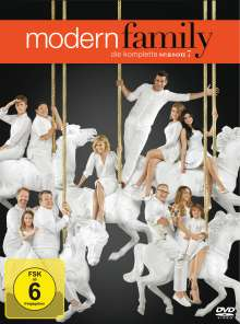Modern Family Staffel 7, 3 DVDs