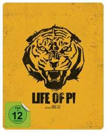 Life Of Pi (Blu-ray im Steelbook), Blu-ray Disc