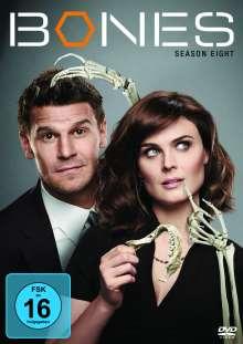 Bones - Die Knochenjägerin Staffel 8, 6 DVDs