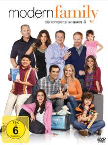 Modern Family Staffel 4, 3 DVDs