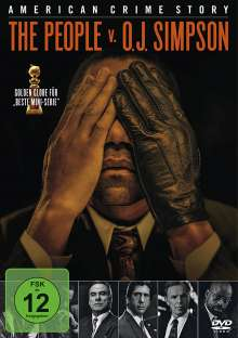 American Crime Story Staffel 1: The People V. O.J. Simpson, 4 DVDs