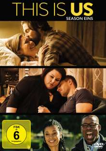 This is us Season 1, 5 DVDs