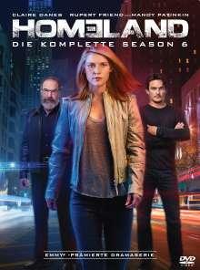 Homeland Staffel 6, 4 DVDs