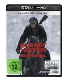 Planet der Affen: Survival (Ultra HD Blu-ray & Blu-ray), 2 Ultra HD Blu-rays