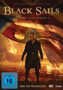 Black Sails Staffel 3, 4 DVDs