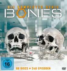 Bones - Die Knochenjägerin (Komplette Serie), 66 DVDs