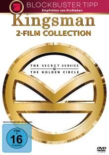 Kingsman 1 & 2, 2 DVDs