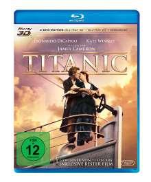 Titanic (1997) (3D & 2D Blu-ray), 4 Blu-ray Discs