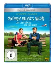 Grüner wird's nicht, sagte der Gärtner und flog davon (Blu-ray), Blu-ray Disc