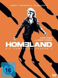Homeland Staffel 7, 4 DVDs