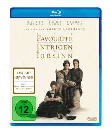 The Favourite (Blu-ray), Blu-ray Disc