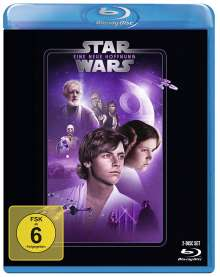 Star Wars Episode 4: Eine neue Hoffnung (Blu-ray), 2 Blu-ray Discs