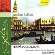Passione Italiana - Streichermusik italienischer Opernkomponisten, CD