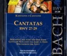 Johann Sebastian Bach (1685-1750): Die vollständige Bach-Edition Vol.9 (Kantaten BWV 27-29), CD