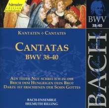 Johann Sebastian Bach (1685-1750): Die vollständige Bach-Edition Vol.13 (Kantaten BWV 38-40), CD