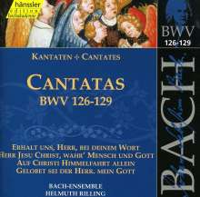 Johann Sebastian Bach (1685-1750): Die vollständige Bach-Edition Vol.40 (Kantaten BWV 126-129), CD