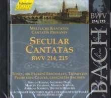 Johann Sebastian Bach (1685-1750): Die vollständige Bach-Edition Vol.68 (Kantaten BWV 214 & 215), CD