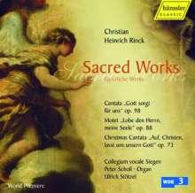 Johann Christian Heinrich Rinck (1770-1846): Geistliche Chorwerke, CD