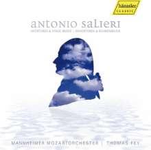 Antonio Salieri (1750-1825): Ouvertüren & Bühnenmusik, CD